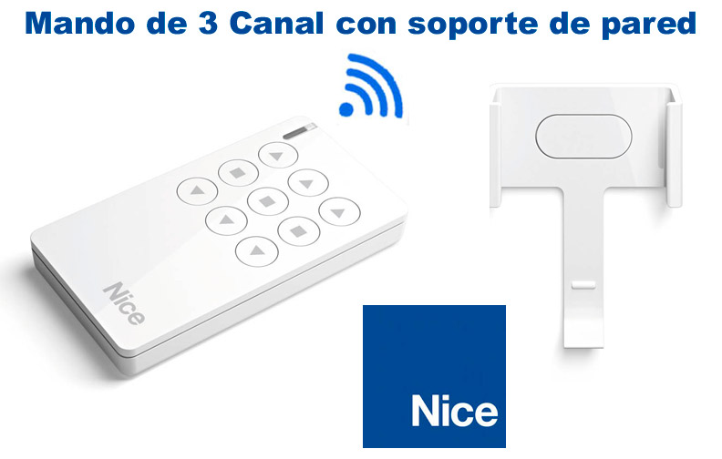 Mando a distancia Nice de 3 canales Era mini Way 3